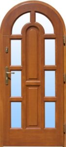 Drzwi drewniane zewnętrzne DW-59b