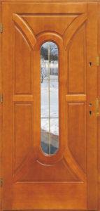 Drzwi drewniane zewnętrzne DW-60