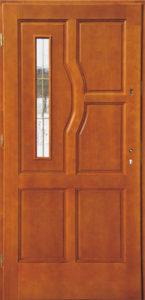 Drzwi drewniane zewnętrzne DW-63