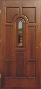 Drzwi drewniane zewnętrzne DW-65