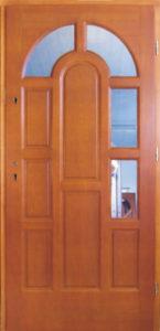 Drzwi drewniane zewnętrzne DW-66
