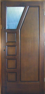 Drzwi drewniane zewnętrzne DW-67
