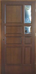 Drzwi drewniane zewnętrzne DW-68