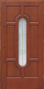 Drzwi drewniane zewnętrzne DW-70