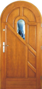 Drzwi drewniane zewnętrzne DW-71