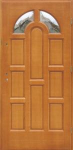 Drzwi drewniane zewnętrzne DW-72