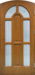 Drzwi drewniane zewnętrzne DW-75