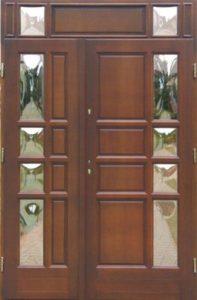 Drzwi drewniane zewnętrzne DWD-68