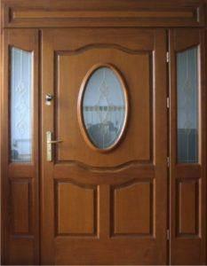 Drzwi drewniane zewnętrzne DWD-69A