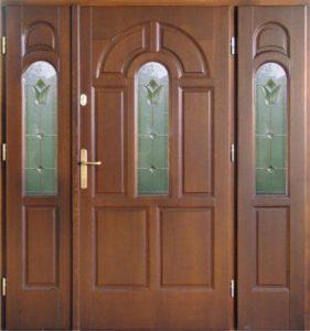 Drzwi drewniane zewnętrzne DWD-70
