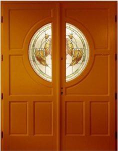 Drzwi drewniane zewnętrzne DWD-71
