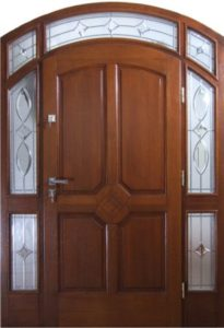 Drzwi drewniane zewnętrzne DWD-72