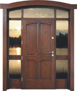 Drzwi drewniane zewnętrzne DWD-73