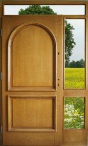 Drzwi drewniane zewnętrzne DWD-76