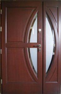 Drzwi drewniane zewnętrzne DWD-80