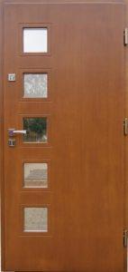 Drzwi drewniane zewnętrzne NW-10a