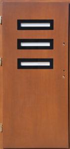Drzwi drewniane zewnętrzne NW-23