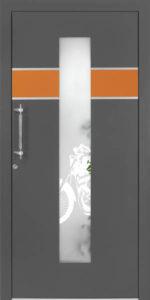 Drzwi drewniane zewnętrzne NW-26