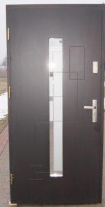 Drzwi drewniane zewnętrzne NW-36