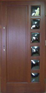 Drzwi drewniane zewnętrzne NW-5