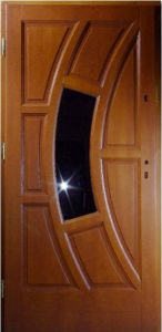 Drzwi drewniane zewnętrzne NW-6