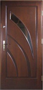 Drzwi drewniane zewnętrzne NW-7