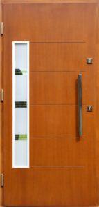 Drzwi drewniane zewnętrzne NW-8