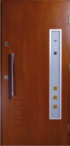 Drzwi drewniane zewnętrzne NW-9