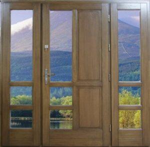 Drzwi drewniane zewnętrzne NWD-10