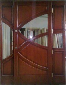Drzwi drewniane zewnętrzne NWD-12