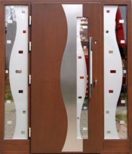 Drzwi drewniane zewnętrzne NWD-14