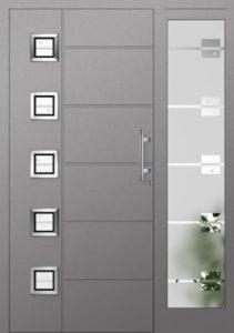 Drzwi drewniane zewnętrzne NWD-17