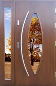Drzwi drewniane zewnętrzne NWD-20