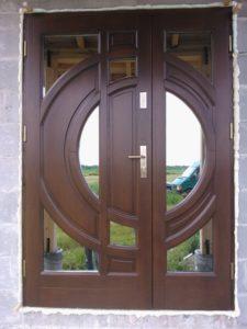 Drzwi drewniane zewnętrzne NWD-24