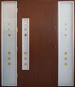 Drzwi drewniane zewnętrzne NWD-9
